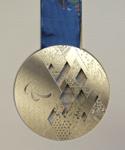 Серебряная медаль Сочи